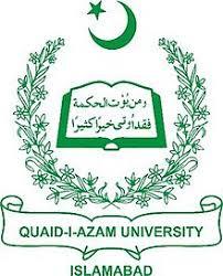 Quaid e Azam University MSC/Mphil Admission 2019