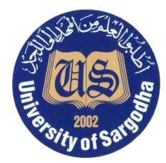 UoS BS 1st Semester Final Exams 2019 Date Sheet