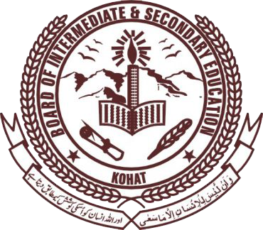 BISE Kohat Grade VIII Exams Scheme of Studies