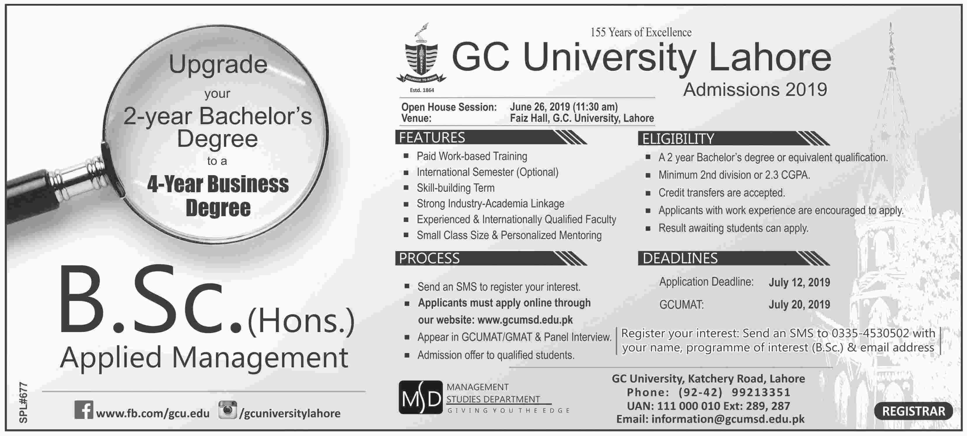 Gc university faisalabad result 2020