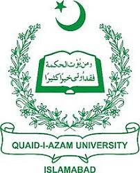 Quaid e Azam University Msc International Relation Admission