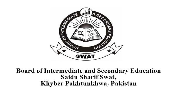 Swat Board 8th Class Exams 2020 Date Sheet