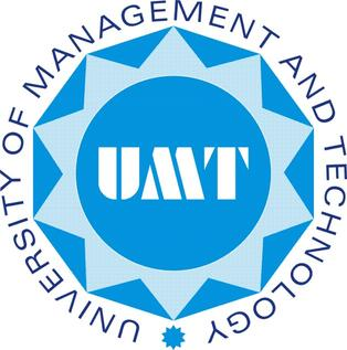University of Management and Technology Admission 2020