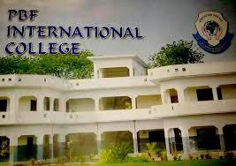 PBF International College for Boys Admission 2020