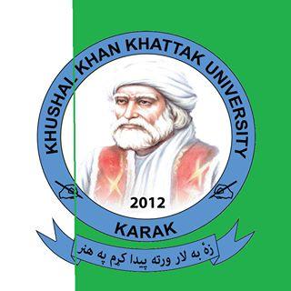 KHUSHWAL KHAN KHATTAK UNIVERSITY