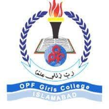 OPF Girls College F 8 2 Islamabad