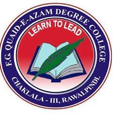 FG QUAID E AZAM PUBLIC SCHOOL CHAKLALA SCHEME III RAWALPINDI