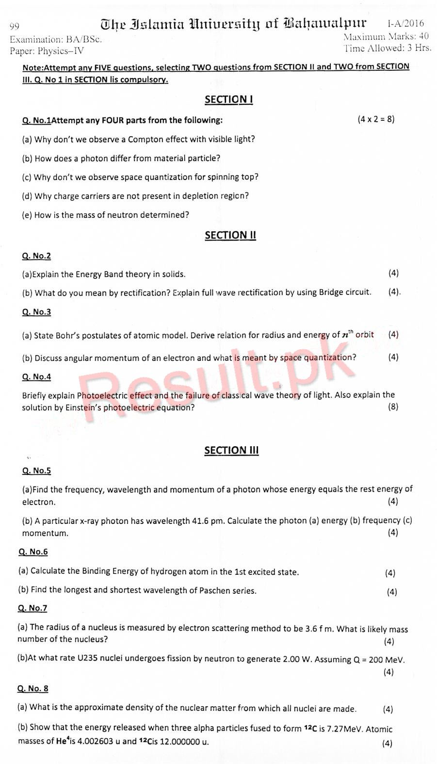 Bsc Physics Mechanics Notes