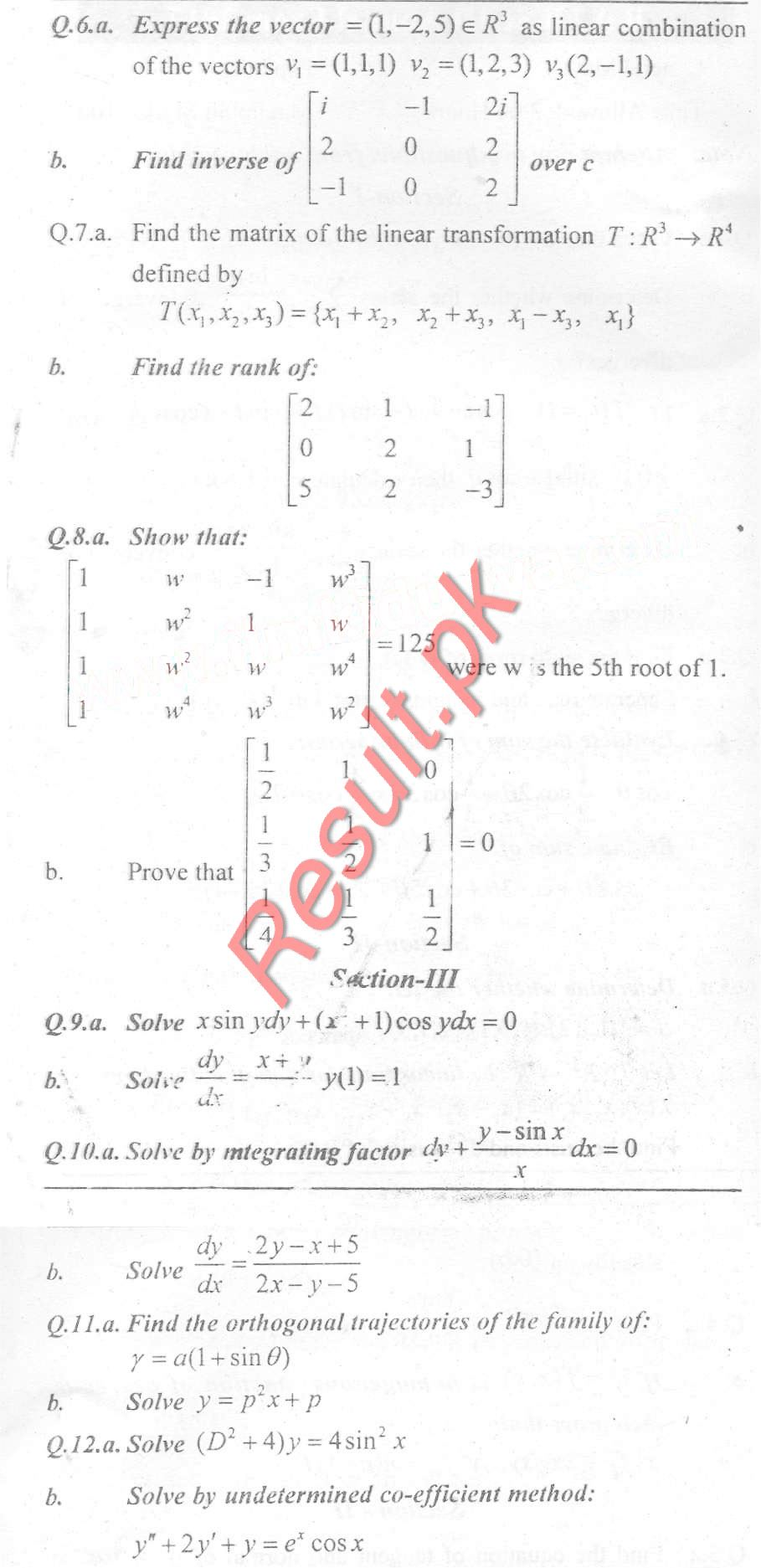 University of Sargodha Past Papers 2019, uos Past & Model Papers