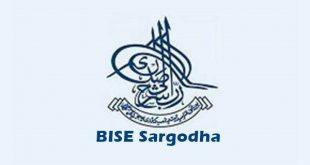 BISE Sargodha Matric Admission Schedule 2018-20