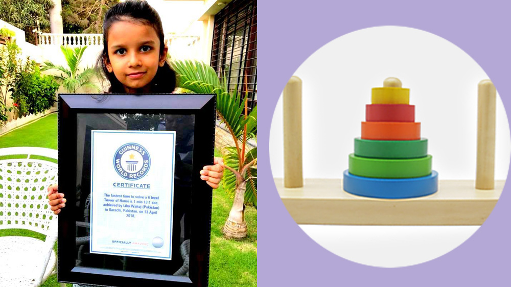 6 Years Old Youngest Pak Girl to Break World Record