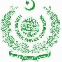 FPSC CSS Competitive Exams 2019