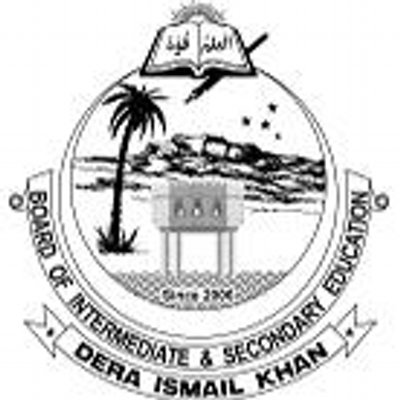 Grade VIII Exams 2020 Date Sheet DI Khan Board