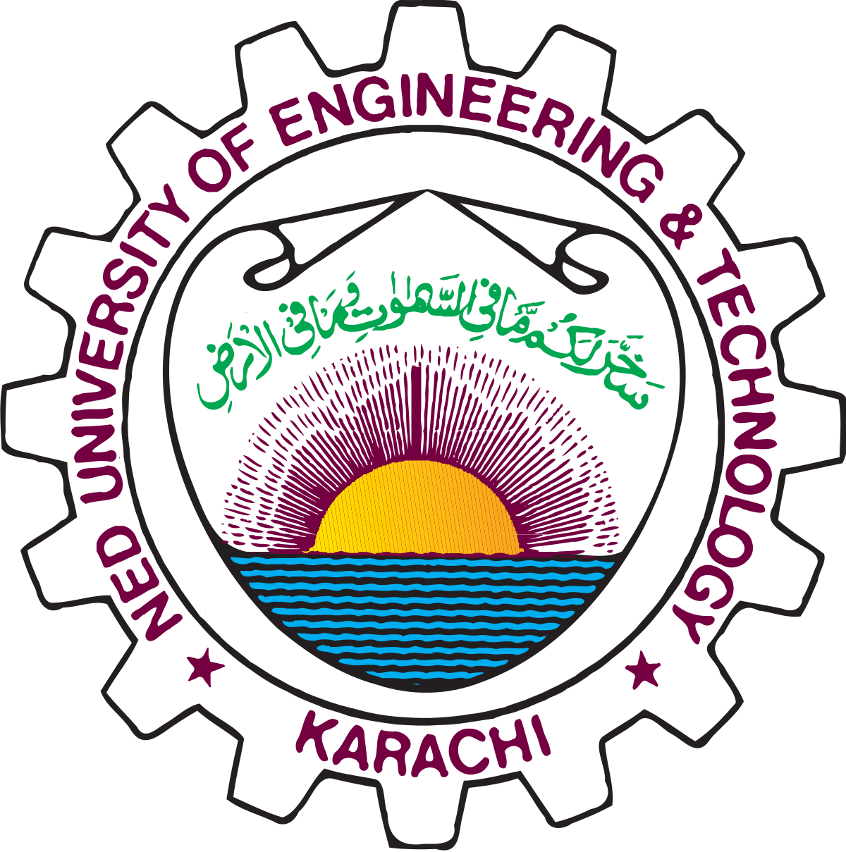 NED Uni of Engg & Tech Karachi Bachelor of Engg Date Sheet