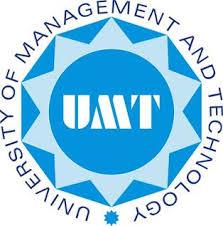 UMT Lahore M.Phil/ PhD/ LLM/ MBA Admissions 2021