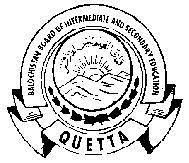 BISE Quetta 12th Class Annual Exams 2021 Revised Datesheet