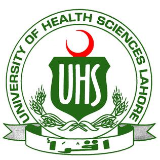 UHS Lahore 3rd Prof BDS Supplementary Exam Schedule 2020