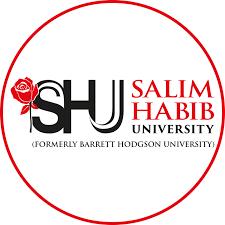 Salim Habib University Karachi BS MBA Admissions 2022