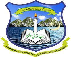 BISE AJK Inter Part 2 Annual Exams Result 2021