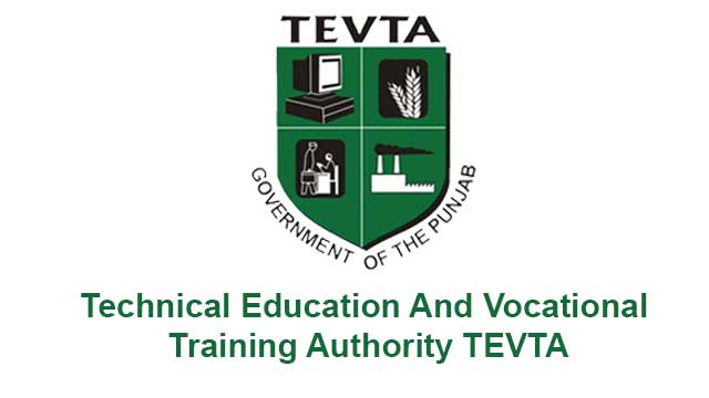 TEVTA Govt. of Punjab offers Courses Admissions 2021