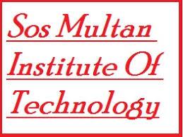 SOS Multan Institute Of Technology DAE Admissions 2021