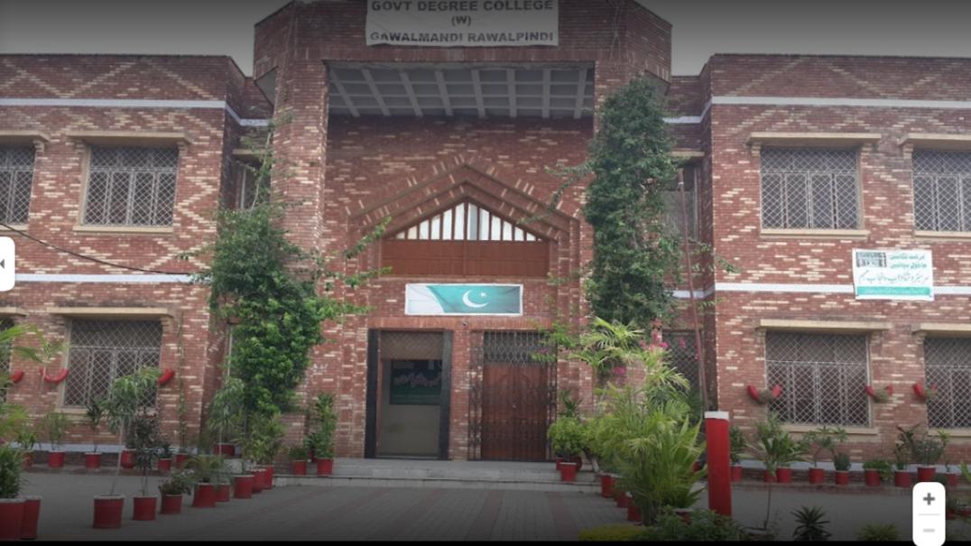 Govt Degree College for Women Rwp FA/FSc Admissions 2021