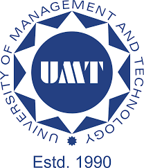 UMT Lahore BS PFT Admissions 2021-2022