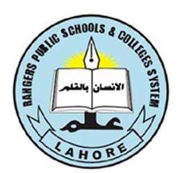 RANGERS PUBLIC SCHOOL FOR GIRLS ZARAR SHAHEED ROAD LAHORE