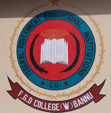 FG DEGREE COLLEGE FOR WOMEN BANNU CANTT