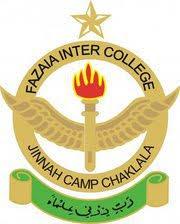 Fazaia Inter College Jinnah Camp Chaklala Rawalpindi