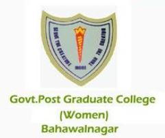 Govt Postgraduate College for Women Bahawalnagar
