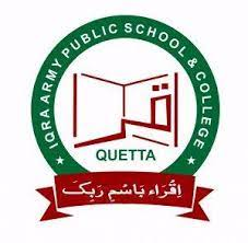 IQRA ARMY PUBLIC SCHOOL AND COLLEGE COMMAND AND STAFF COLLEGE QUETTA
