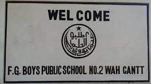 FG PUBLIC SCHOOL NO 2 GIRLS WAH CANTT