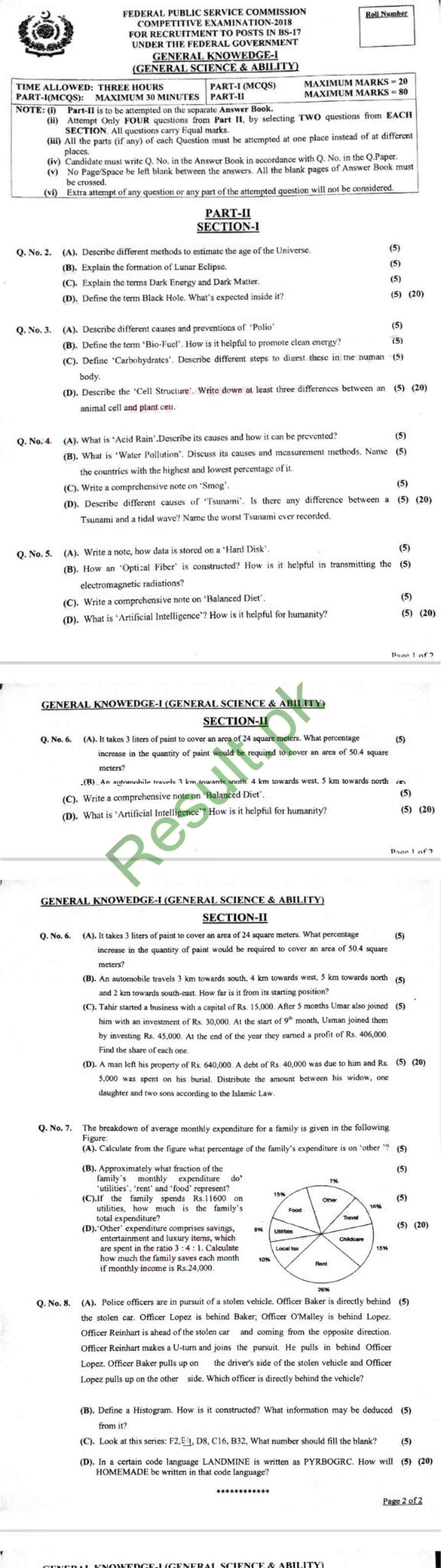 Ppsc Past Papers Pdf
